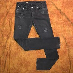 AG Jeans Premier Skinny Straight 26 Retail $238
